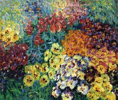 immagini di giardini fioriti lo splendore dei colori i fiori di emil nolde pitturiamo