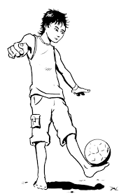 juggling ball soccer coloring pages boys coloring pages