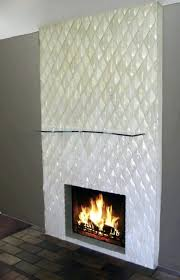 contemporary fireplace decor surrounds uk glass tile installation