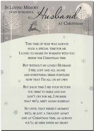 thanksgiving memories poem grave card in loving memory of my wonderful husband at christmas