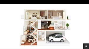 Home Decorator App Superb 3d Home Plans 6 House Designs Smalltowndjs Com Marvelous 14