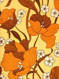 Tudor Style Wallpaper Lovely Orange And Yellow Pattern Pattern Floral Pattern Play