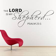 aliexpress buy the lord is my shepherd psalm 23 1 scripture