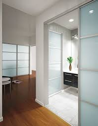 simple house design inspiration with white gray wall large glass