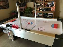 sportcraft turbo hockey table air hockey table sportcraft turbo with 4 strikers and 2 pucks