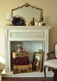 3 Stylish Mantel Displays Sainsbury Creative Ways To Decorate A Non Working Fireplace Apt