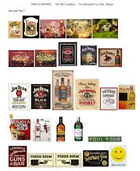Liquor Signs Bar Or Pub And Outdoor Signs Website Devoted To 1 12th Scale