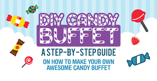 Diy Candy Buffet by Candy Buffets The Ultimate Guide Infographic Candystore Com