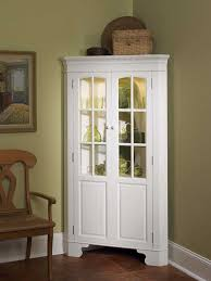 White Curio Cabinet Sideboards Awesome White Corner Hutch For Dining Room Curio