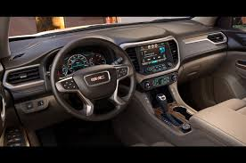 new jeep truck interior 7 things you need to know about the 2017 gmc acadia