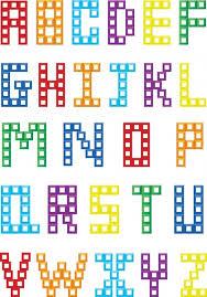 vector creative block letters free vector in adobe illustrator ai