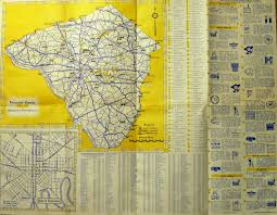 Pennsylvania County Maps by 1960 U0027s Road Maps Of Pennsylvania