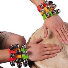 noise makers carnival party noise maker wristband bracelet percussion bells