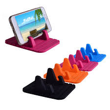 Cell Phone To Desk Phone Car Holder Anti Slip Mat Mount Desktop Stand Bracket For Iphone