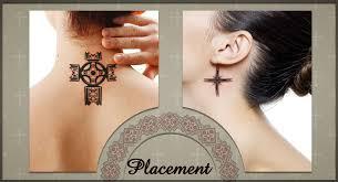 34 celtic knot neck tattoos