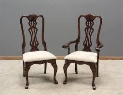 queen anne regal dining room chair