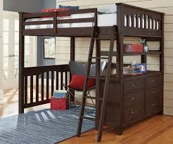bunk beds queen loft bed with desk full size walmart regarding