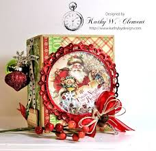 kathy by design twas the night before christmas book box with