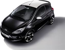 ford introduces black and white editions for the fiesta and ka in