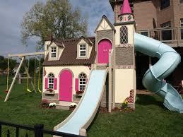 Backyard Playhouse Ideas Childrens Custom Playhouses Diy Playhouse Plans Lilliput