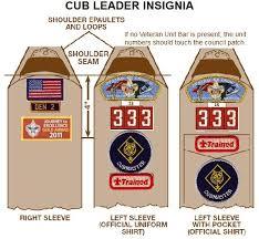 Arrow Of Light Patch Uniform Patch Placement Cub Scout Pack 333
