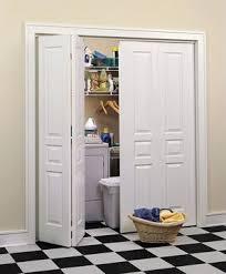 3 Door Closet Panel Louver And Flush Doors Interior Doors And Closets