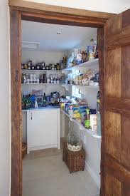 walk in larder with marble shelving kitchen designed by giles