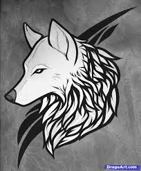 how to draw a wolf tattoo wolf tattoo step by step tattoos pop