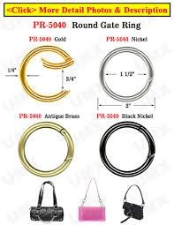 black binder rings images Big keychain strap binder rings for keys loose leaf books or jpg