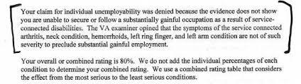 iu individual unemployability
