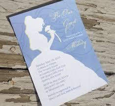 cinderella wedding invitations broprahshow