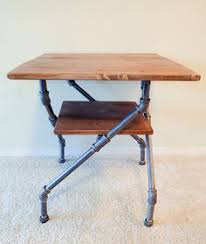 Pipe Desk Extra Thick Pipe Reclaimed Wood Desk Industrial Desk by Industrial Pipe Desk Pipes Desks And Industrial