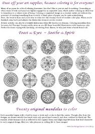 the herbangardener need a christmas gift my mandala coloring