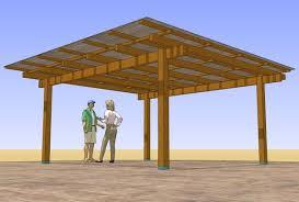 patio cover plans woodsshop