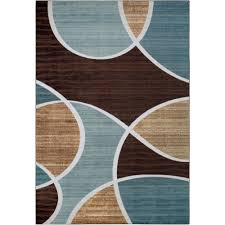 Area Rug Aqua Better Homes And Gardens Geo Wave Textured Print Area Rug Ebay