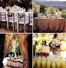 backyard wedding decorations how to throw a backyard wedding the food table decor green