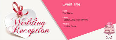 wedding reception invitation free wedding reception invitation with india s 1 online tool
