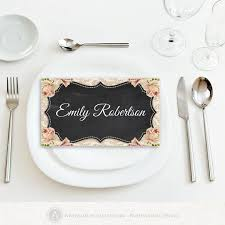 printable name place cards 25 best printable place cards ideas on print your own