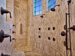 custom walk in showers shower shower custom walk in showers just needs the waterfall