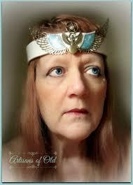 goddess headband goddess headpiece ritual crown leather headband