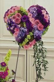 Order Flowers San Francisco - solid heart of flowers colma florist funeral flowers san