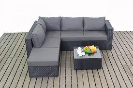 Rattan Garden Furniture Sofa Sets Centurion Port Royal Prestige Rattan Garden Furniture Large Sofa