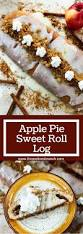 apple pie sweet roll log three olives branch