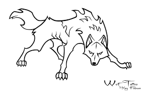 easy outlines of animals 24 simple wolf tattoo art design and ideas for tattooing
