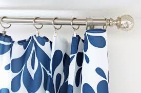 How To Extend Curtain Rod Length Remodelaholic Universal Tricks For Looking Curtain Panels
