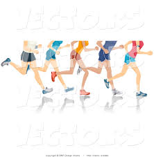 Designs For Runners Vector Of 5 Sets Of Runners Legs Running By Bnp Design Studio 3982