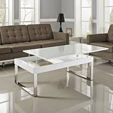 furniture modern lift top coffee table with storage drawers