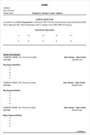 How To Write Resume Example by Chronological Resume Templates Sample Cv What Chronological