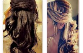 half up half down hairstyles straight tutorial cute