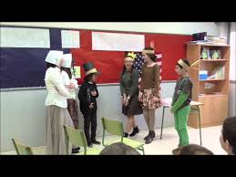 esl thanksgiving story thanksgiving role play youtube